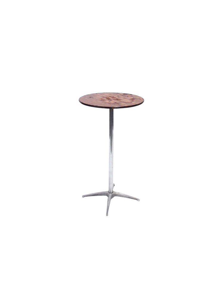 Round Pedestal Tables 42 High, High Round Tables