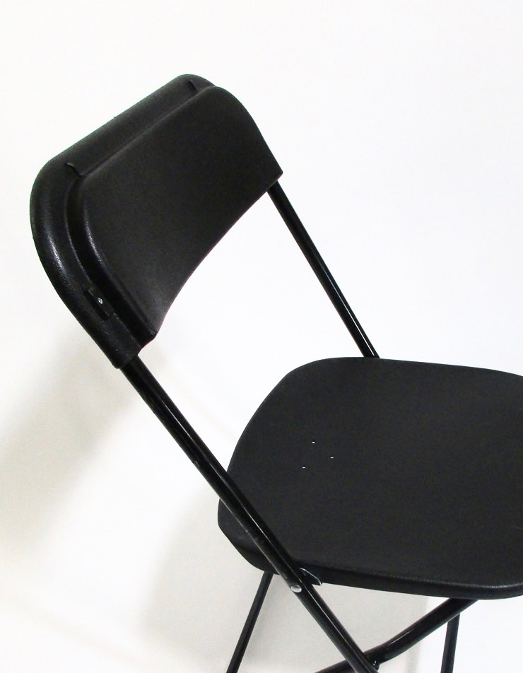 FOLDING CHAIR – BLACK