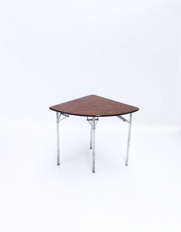 Superb QUARTER ROUND TABLE ...