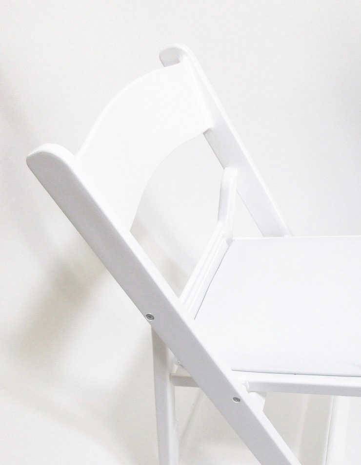 Resin Folding Chair White Rsvp Party Rentals