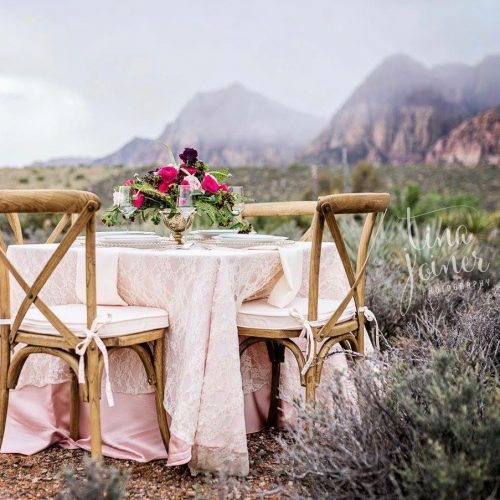 OUR CROSS BACK CHAIRS AT REDROCK CANYON   PHOTO BY TINA JOINER PHOTOGRAPHY