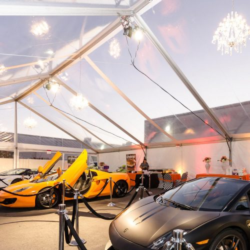 HOT CARS COOL TENT!