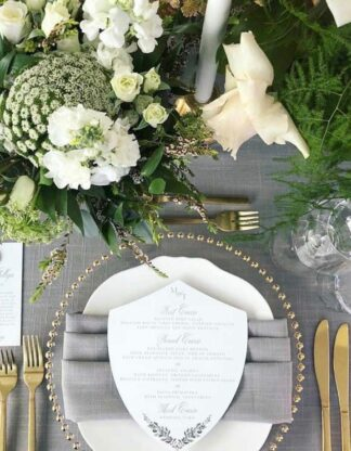 China / Chargers / Flatware / Glassware